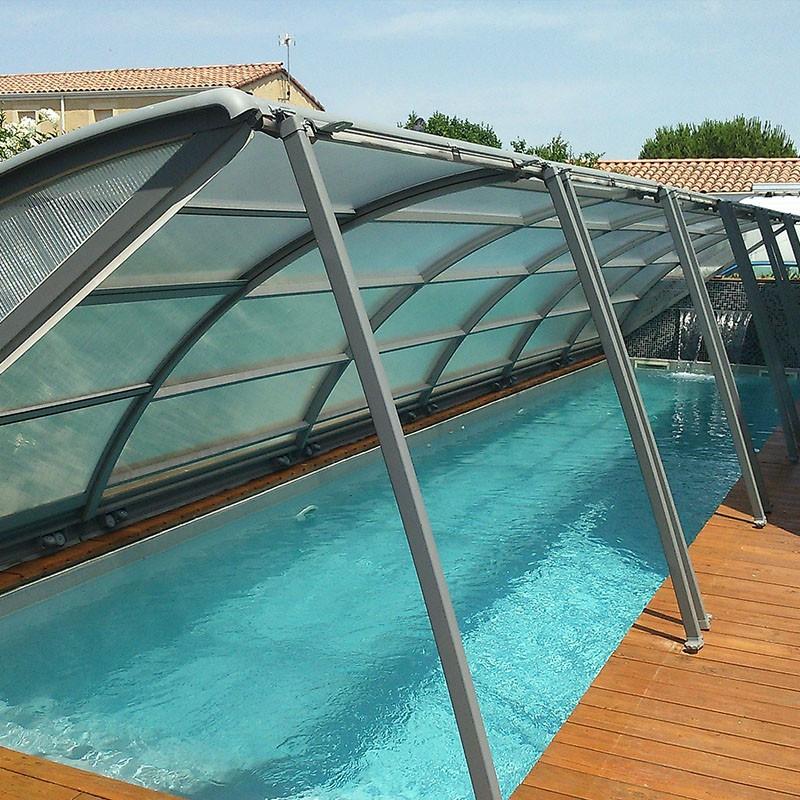 Abri piscine Amo