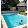 Abri de piscine en kit aluminium