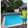 Abri de piscine en kit aluminium ouvert