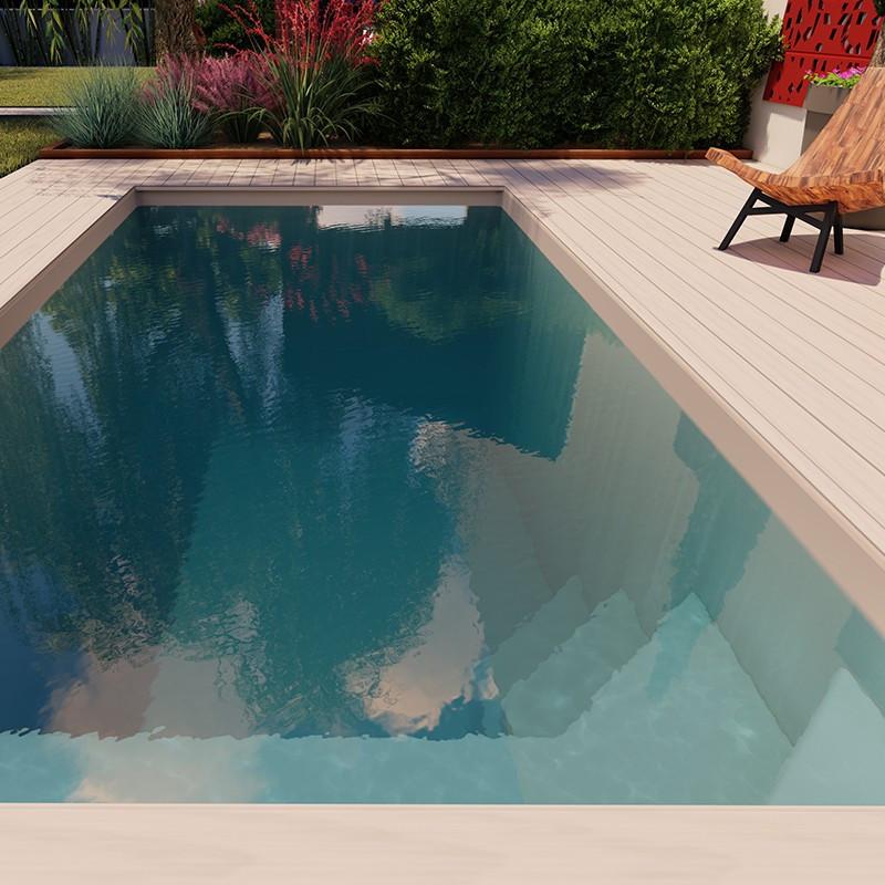 Mini coque piscine polyester