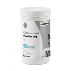 Chlore lent (pastilles 20g) - 1kg