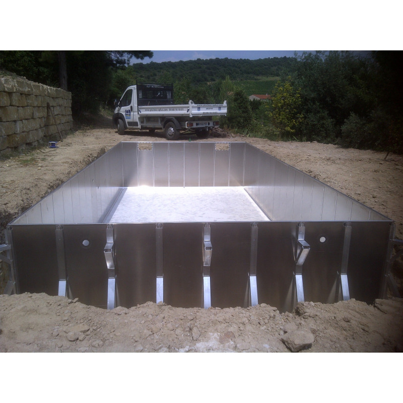 Kit piscine sans permis de construire sheltom for Construction piscine permis