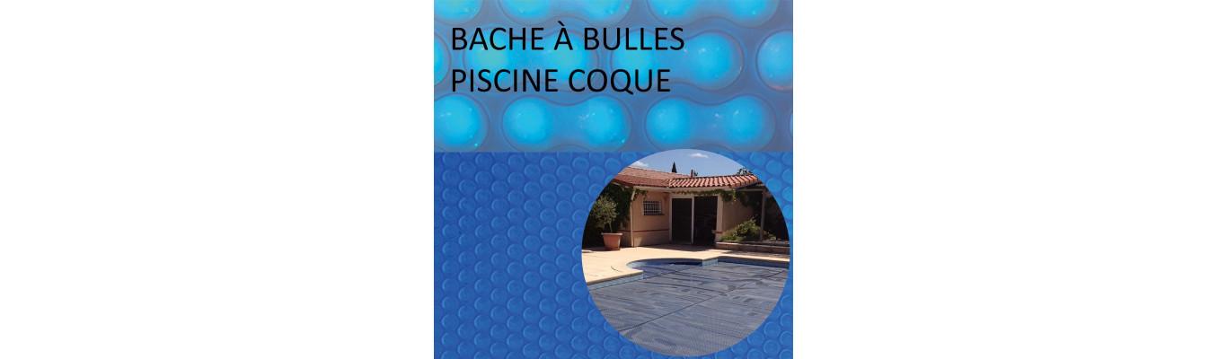 Bâche à bulles coque piscine